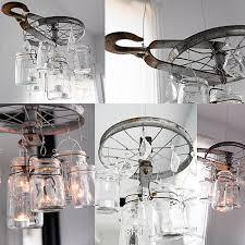 pulley chandelier diy diy vintage mason jar chandelier