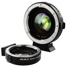 Адаптер <b>Viltrox EF</b>-<b>M2 II</b> Speed Booster Canon EF - Micro 4/3 ...