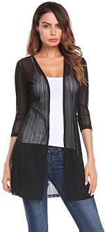 Grabsa <b>Women Summer Sheer</b> Lace Cardigan Beach Wear ...