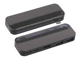 <b>Хаб USB Baseus Transparent</b> Series Dual Type C Multifunctional ...