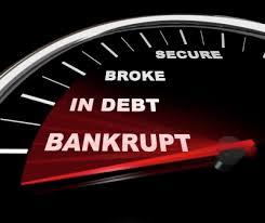 Image result for bankruptcy images