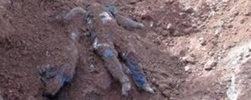Image result for men buried alive