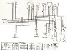 honda mtx 125 engine diagram honda wiring diagrams