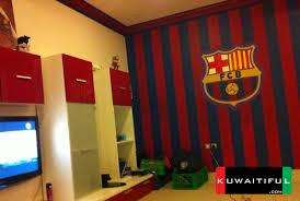 barcelona fan room paint barcelona bedroom