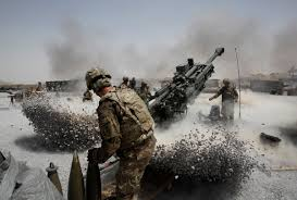photo essay years of war warrior scout fire a howitzer artillery piece at seprwan ghar forward fire base in panjwai district kandahar province southern 12 2011