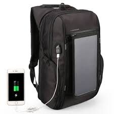 KINGSONS <b>Solar Charging</b> Backpack with <b>Removable Charging</b> ...