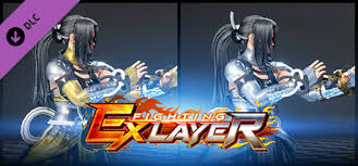 FIGHTING EX LAYER - <b>Color Gold</b>/<b>Silver</b>: Shirase on Steam