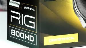 Гарнитура <b>Plantronics RIG 800HD</b>