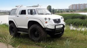 Русский <b>вездеход</b>-амфибия РУСАК-3992