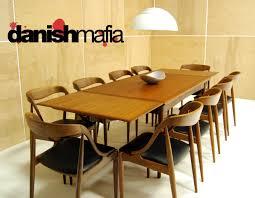 Teak Dining Room Sets Mid Century Danish Modern Set Of 10 Teak Johannes Andersen Dining