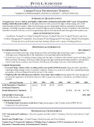 hedge fund equity research analyst resume equity trader resume