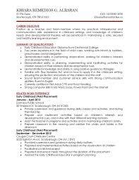 cover letter and resume resume 2 sample resume for daycare teacher