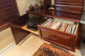kitchen cabinets home office transitional: lateral file cabinet home office transitional with built in desk built in desk in study built