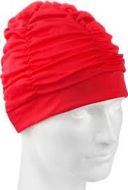 <b>Шапочка</b> для плавания <b>MadWave Lux</b> Shower, 10005046, красный ...