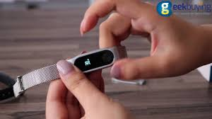 Mijobs <b>Metal Strap</b> for Xiaomi Mi <b>Band</b> 2 - YouTube
