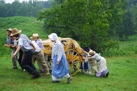 Image result for pioneer handcart trek