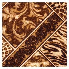 <b>Ковровое</b> покрытие «<b>Руно</b> 170» принт 3 м цвет коричневый в ...