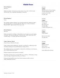 nanny resume examples in nanny resume examples babysitting example of a nanny resume nanny resume examples nanny and babysitting resume template nanny resume