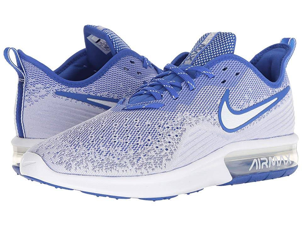 Blanco Max Air Nike 10 4 De Hombre Royal Para Mediano Sequent Hiper Running 5 Zapatillas D qwFTRBzc