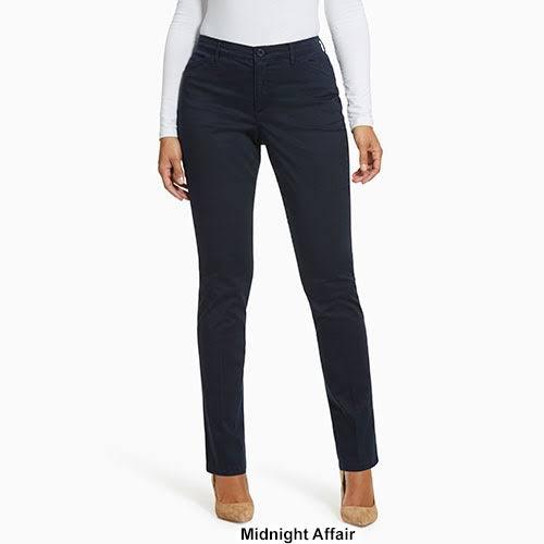 Beige Anita De Gloria Droite Vanderbilt Pantalon Taille À Jambe Femme 12 Sateen Pour w1BHxvqHI