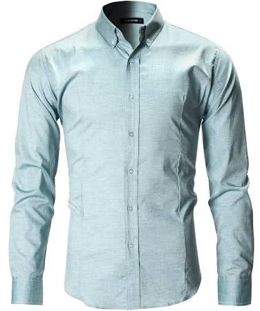 Fit Oxford Slim Flatseven Lässiges Button Down Herren Shirt nfEgxawIF
