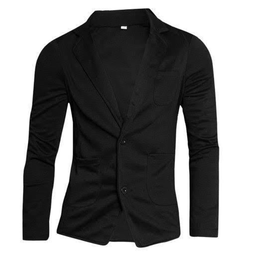 Slim Black Blazer größe Schnäppchen Outwear 36 S Einzigartige Herren Fit ExaqYR