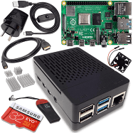 Raspberry Pi 4 Model B 4GB Complete Starter Pack - 32GB Noobs