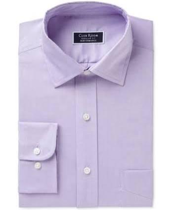 Habitación 17 Purple Vestir Macy's Camisa Club 32 33 De Creada Hombres Para Clásica Rendimiento La Regular qCf58wC