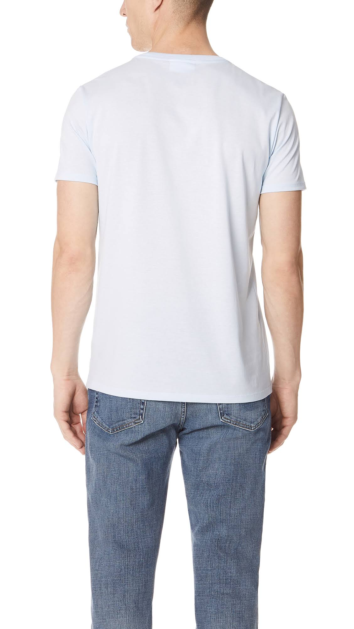 shirt Herren Normales T Neck Pima Blau Crew Cotton Lacoste S w0dBxAvqv