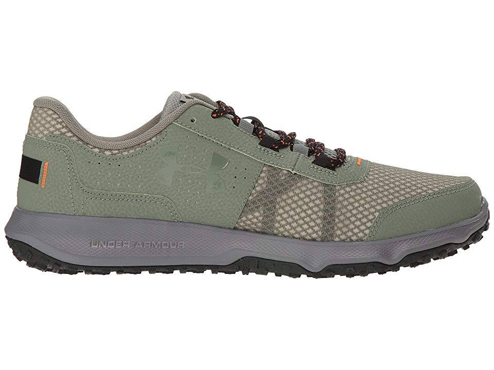 Armour Under Negro Grafito Hombre Musgo Para 8 Zapato Toccoa Verde xq1RII