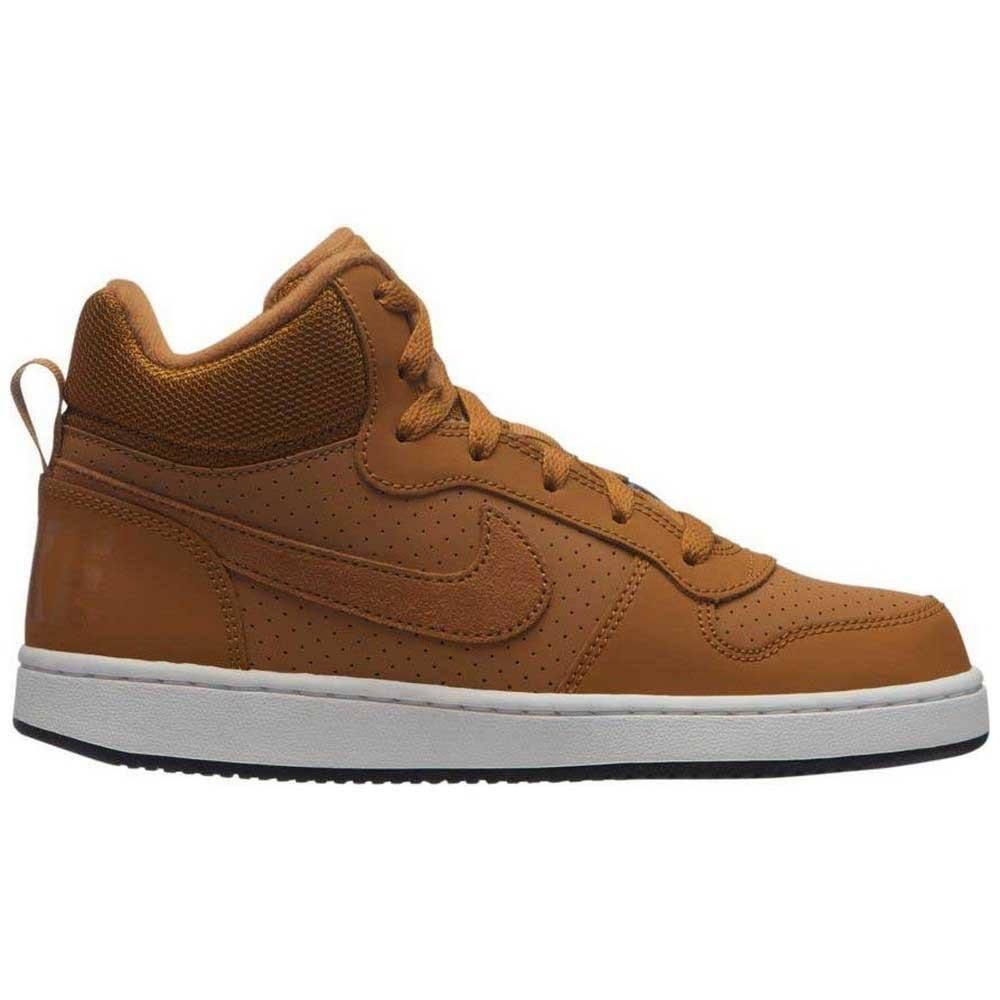 Nike Scarpe bambini Court Borough Mid bambino Marrone 40