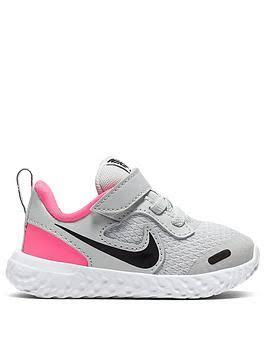 Nike Revolution 5 Infant - Grey - Infants - Trainers