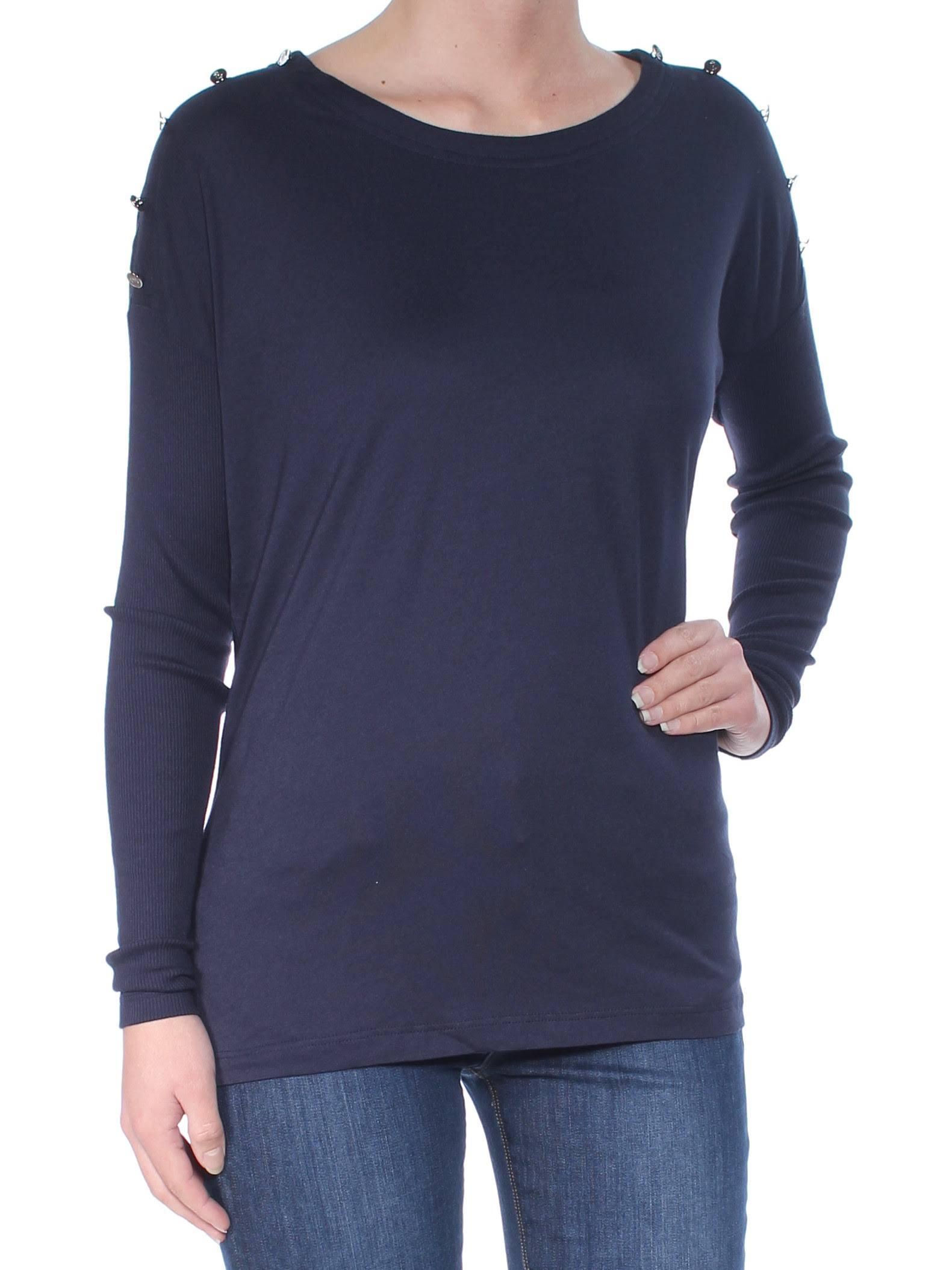 U Ralph Langarm Lauren Kleidung Navy Lässige ausschnitt rEFBEzq