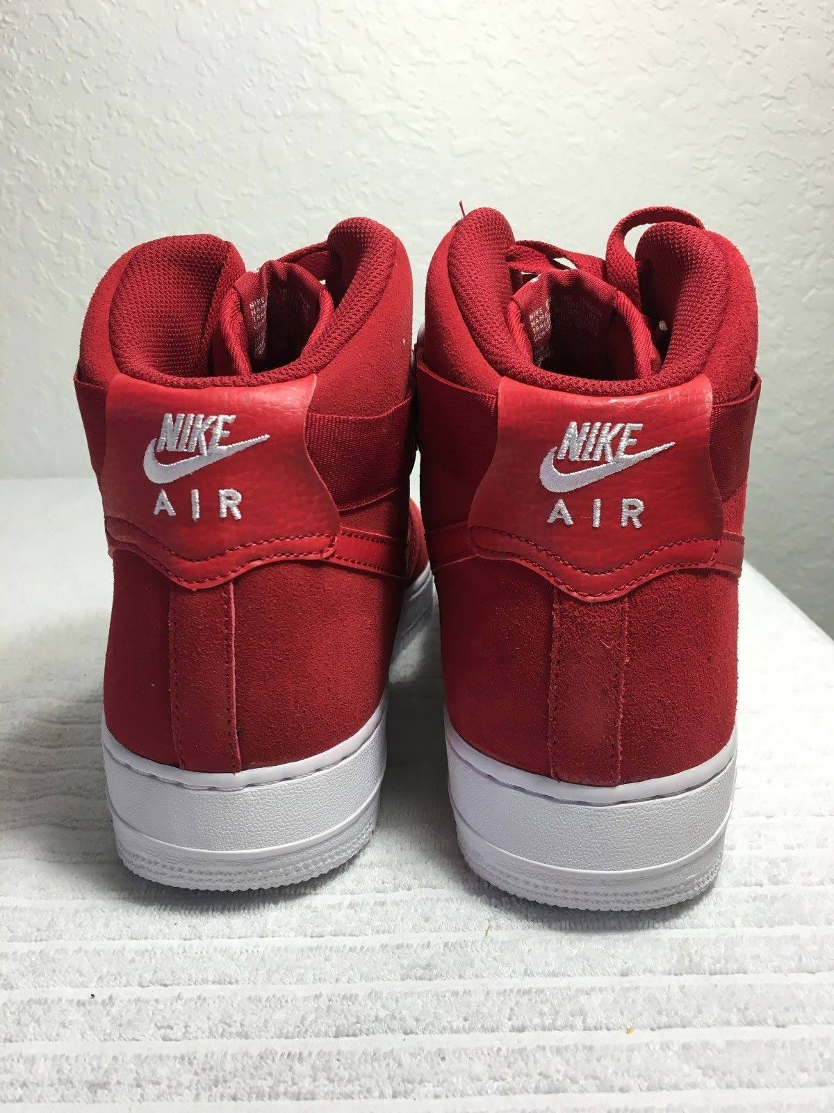 1 5 604 11 Nieuw Force Rouge High 315121 Gym Nike Air RedWhite Roodwit Herenmaat '07 UzLSGVjqpM