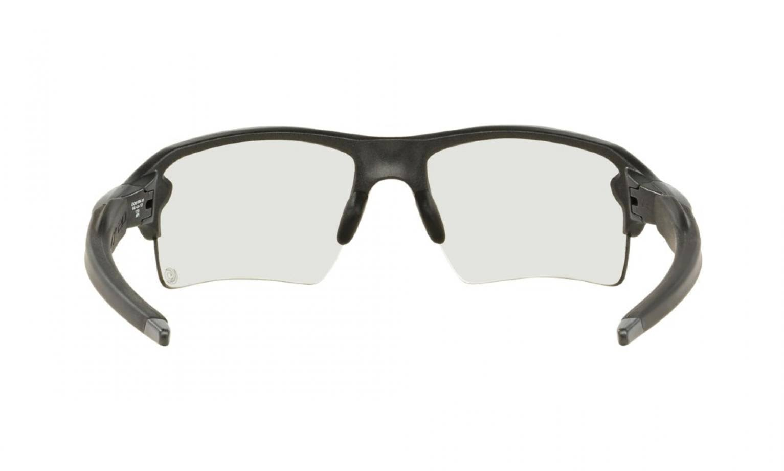 Pulido Irid Black 2 0 Flak Sunglasses Oakley Photochromic Xl Photo Oo91 Iridium Clear qYOnCO