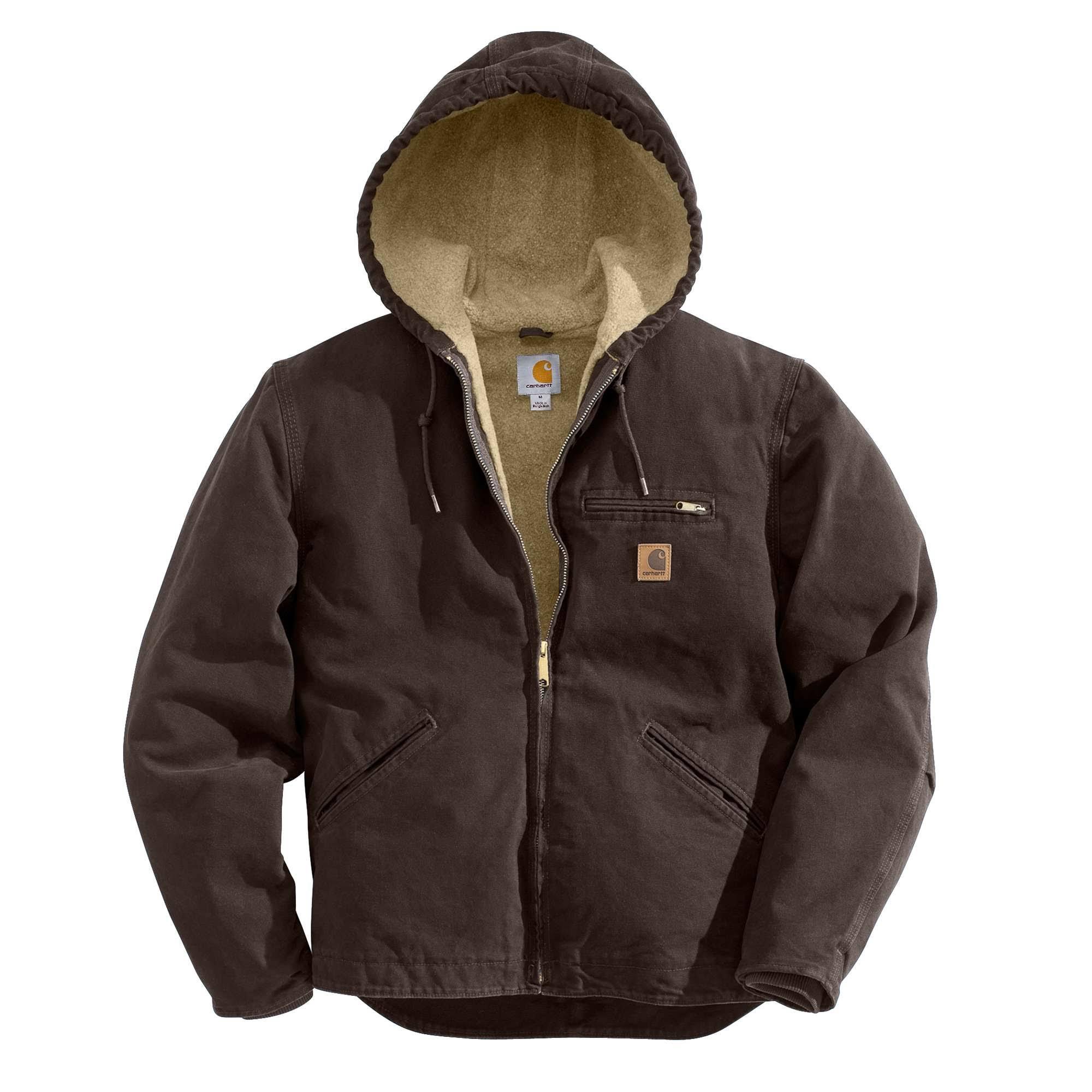 Hombre Carhartt Sherpa Sierra Y Grande Alto Forrado Para Sandstone Marrón Oscuro wSqS7rt