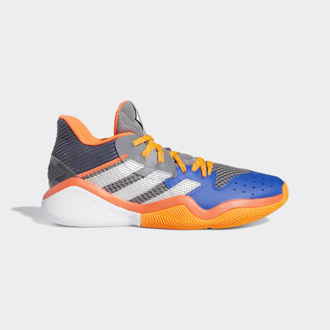 Adidas Performance Harden Stepback Shoes - Grey Three
