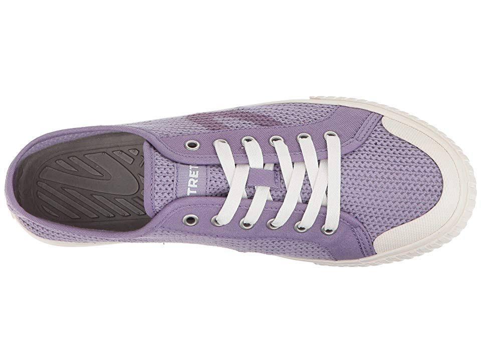 canvas Fashion sneaker5m Tournet Tretorn dameslavendelwit stof 8O0wyvNmn