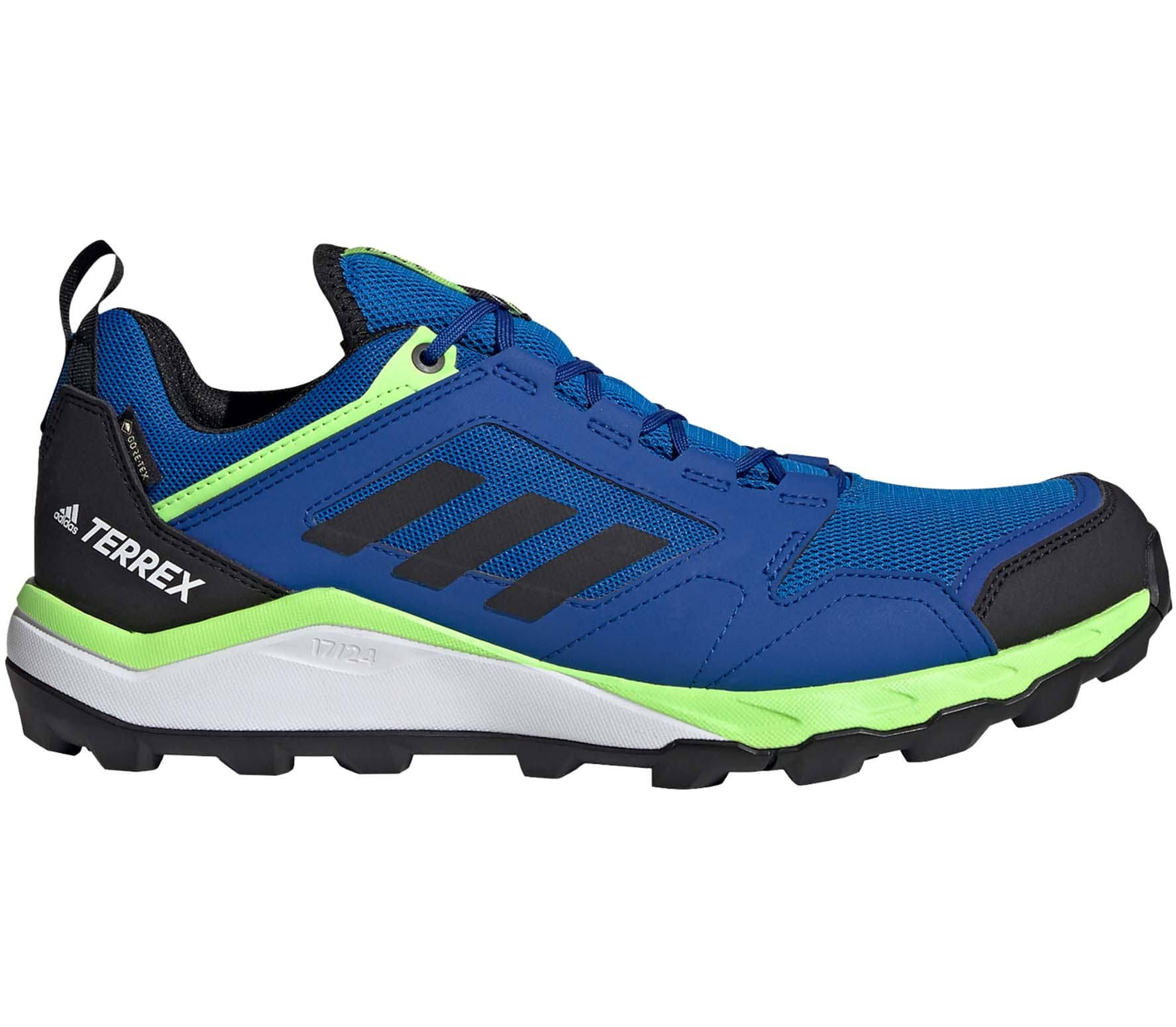 Adidas Terrex Agravic TR Gore Tex Trail Running Shoes - Blue - 12