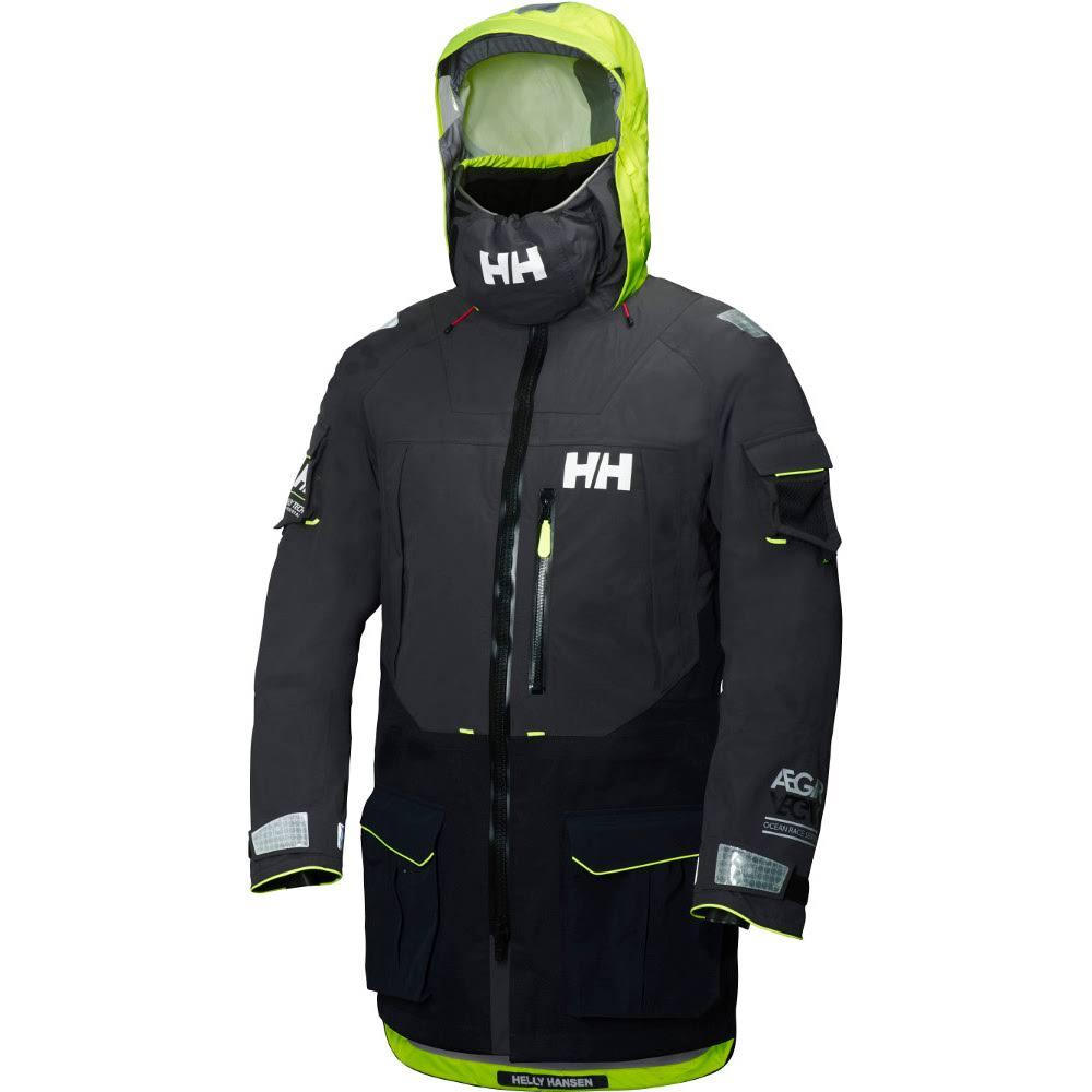 Hansen Aegir M Helly Talla Ocean 2018 Ebony Negro Jacket TdFFzqxw