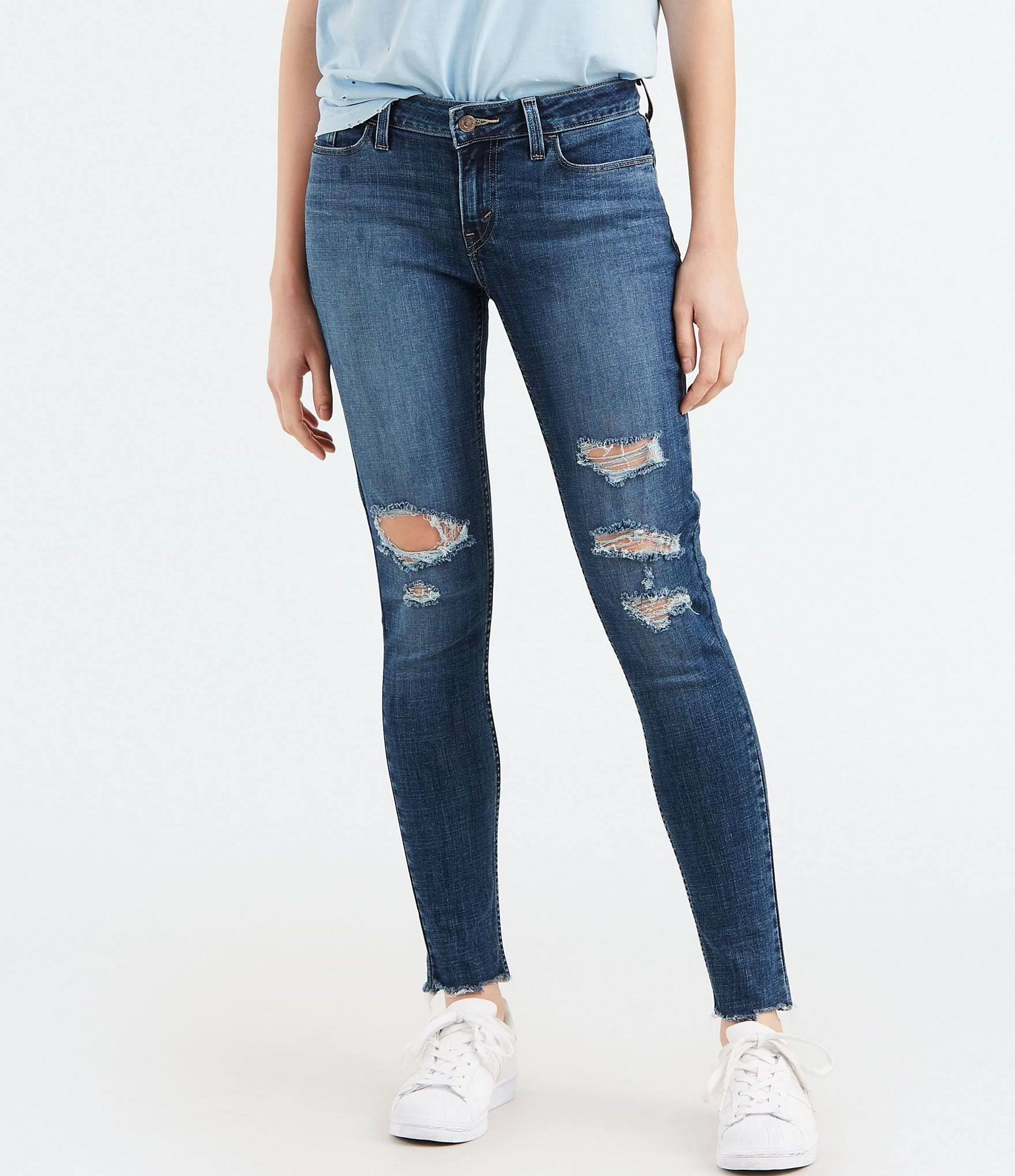 Jeans Levi's Constellation Sky Skinny 535 30 28 Destructed RStwq1xF