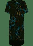 Bon'A Parte Dame Jurk - Lichtgrijs/blauw