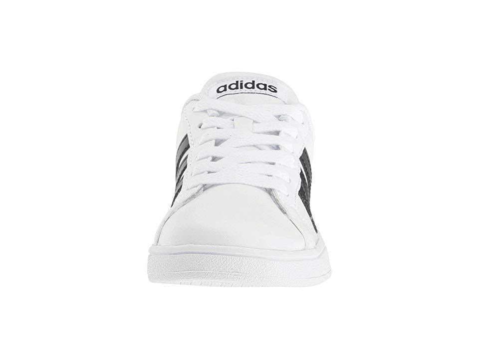 K Baseline Sneakers Round Toe Aw4299 Leather Adidas 54w0vRxv