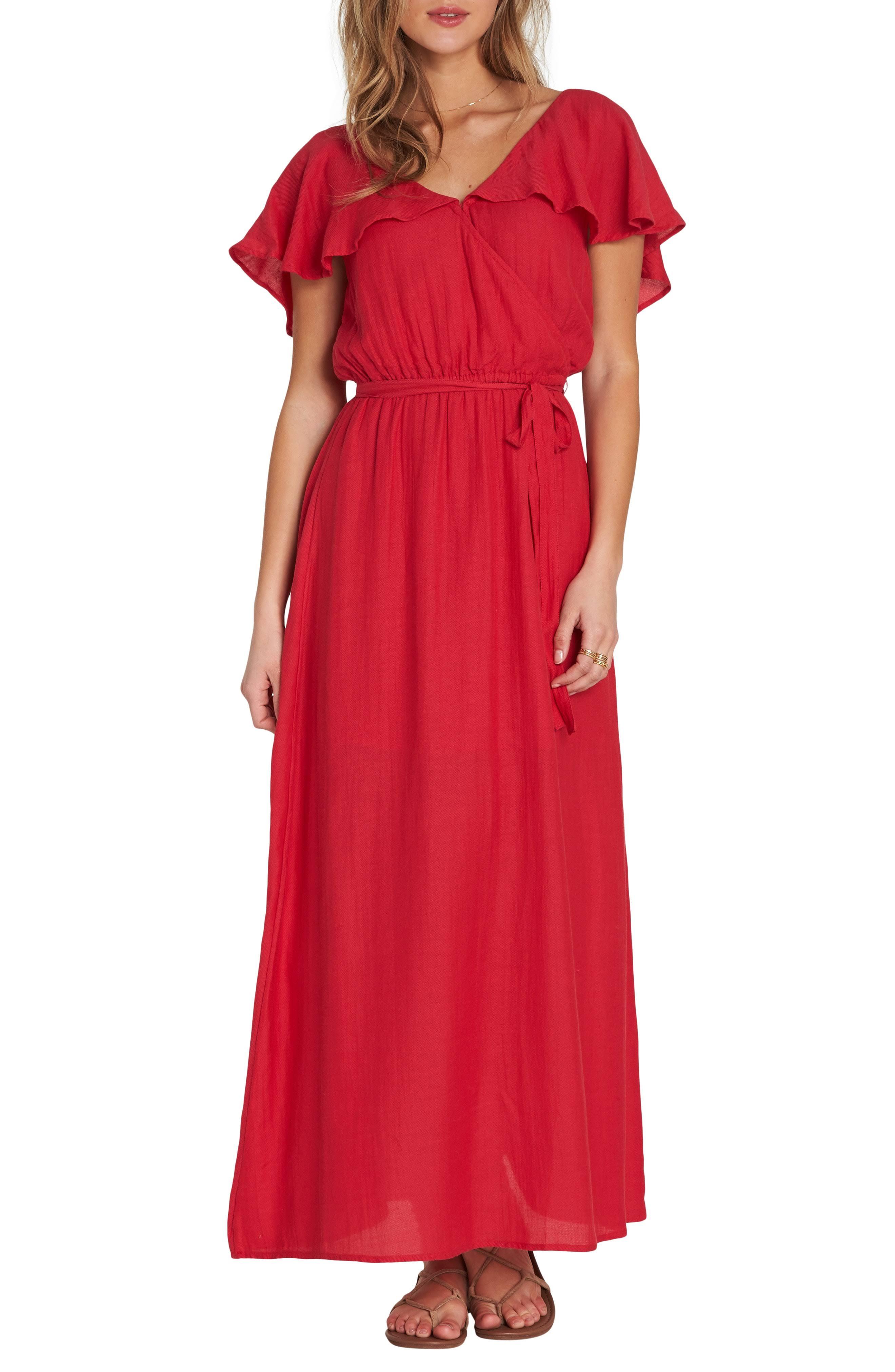 Para Dance Largo All Night Granate Vestido Knit Mujer Xs Billabong xSwqYdX5S