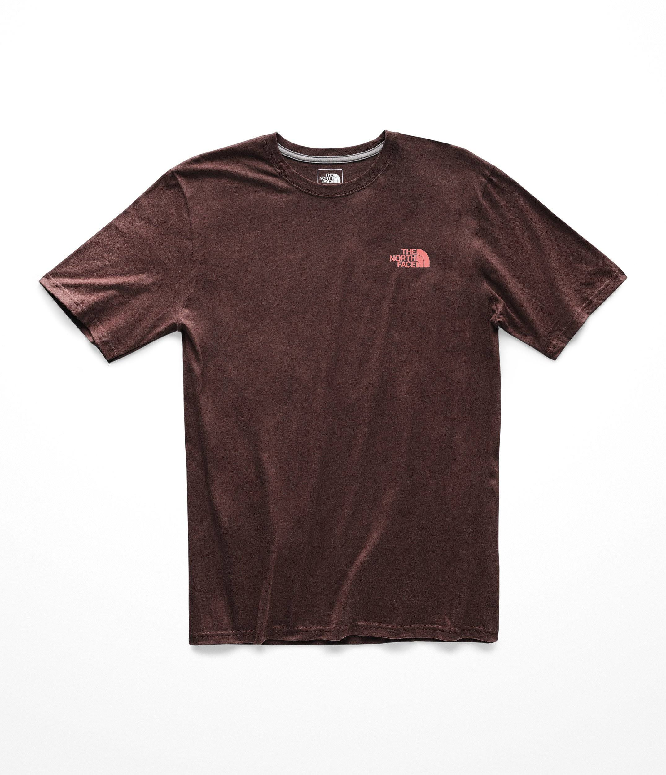 Camiseta The Xxl Red Sequoia Face North Faded Box Hombre Rose rrvdPw