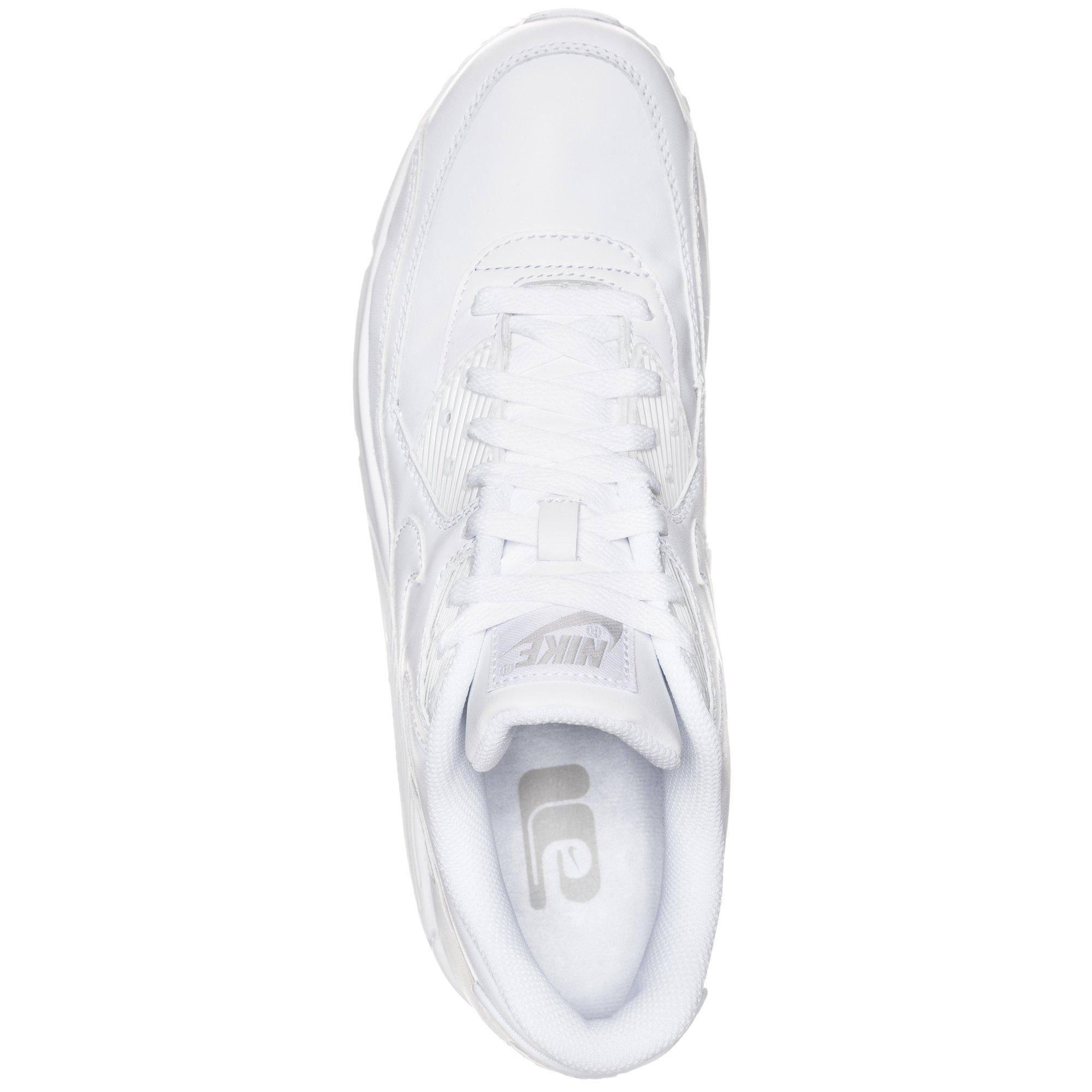 BiancobiancoBianco Air Max Uomo Sneaker Pelle In Nike 90 nv80Nmw