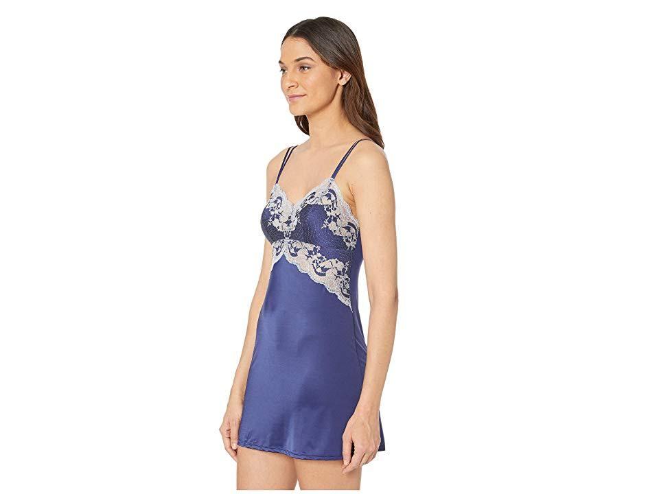 Blau Xl 812256 Chemise Wacoal Satin Lace Affair amp; 6qnxTqFY0v