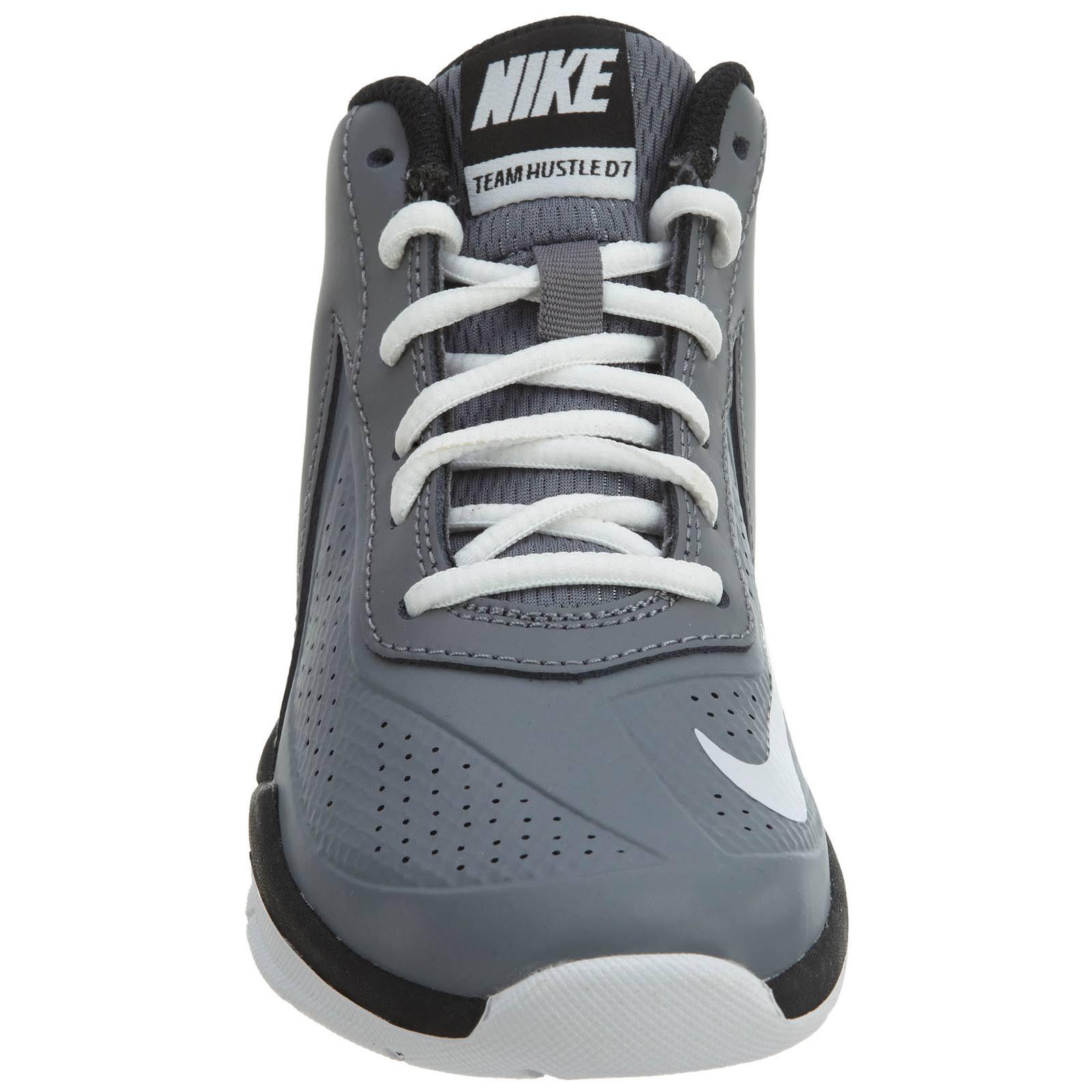Hustle Weiß schwarz Jungen Nike Jugend D7 Mädchen Basketballschuhe Cool Team 747999 Grey Kinder Kleinkind wqFF1A6
