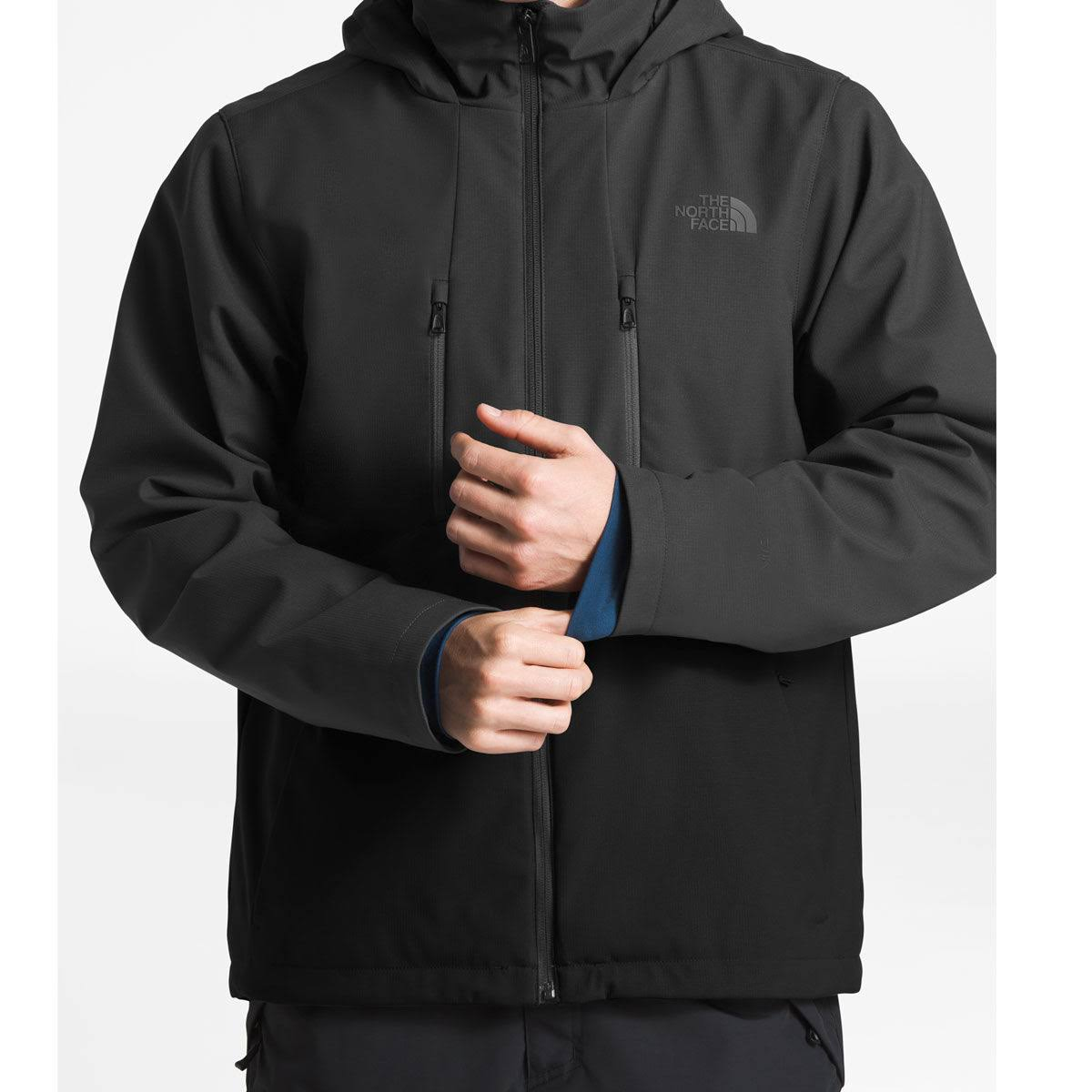 Asphalt amp; The Gray Hombre Tnf Elevation Apex Chaqueta North Face Para Black 0zqFBF