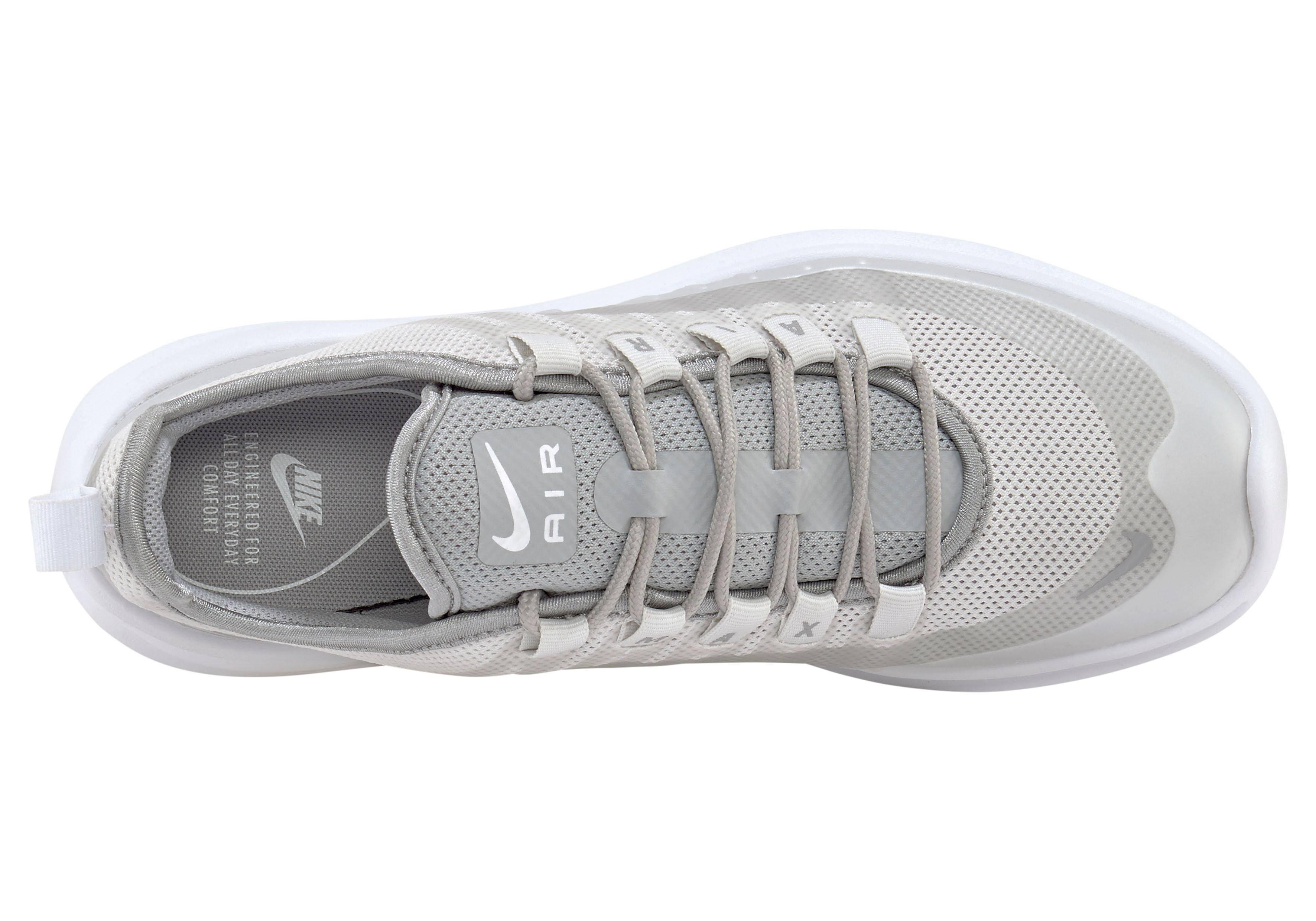 Damen Max Größe Weiß Silber Air grau Axis 42 Sneakers Nike In F16xWnn